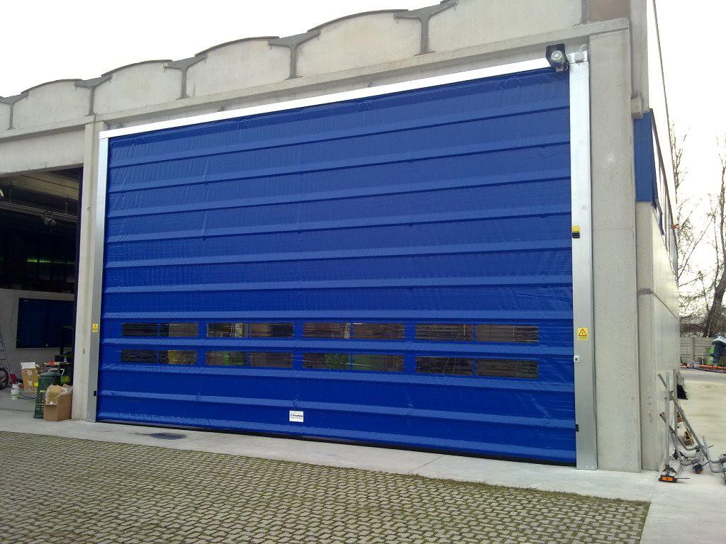 high speed doors fold up doors