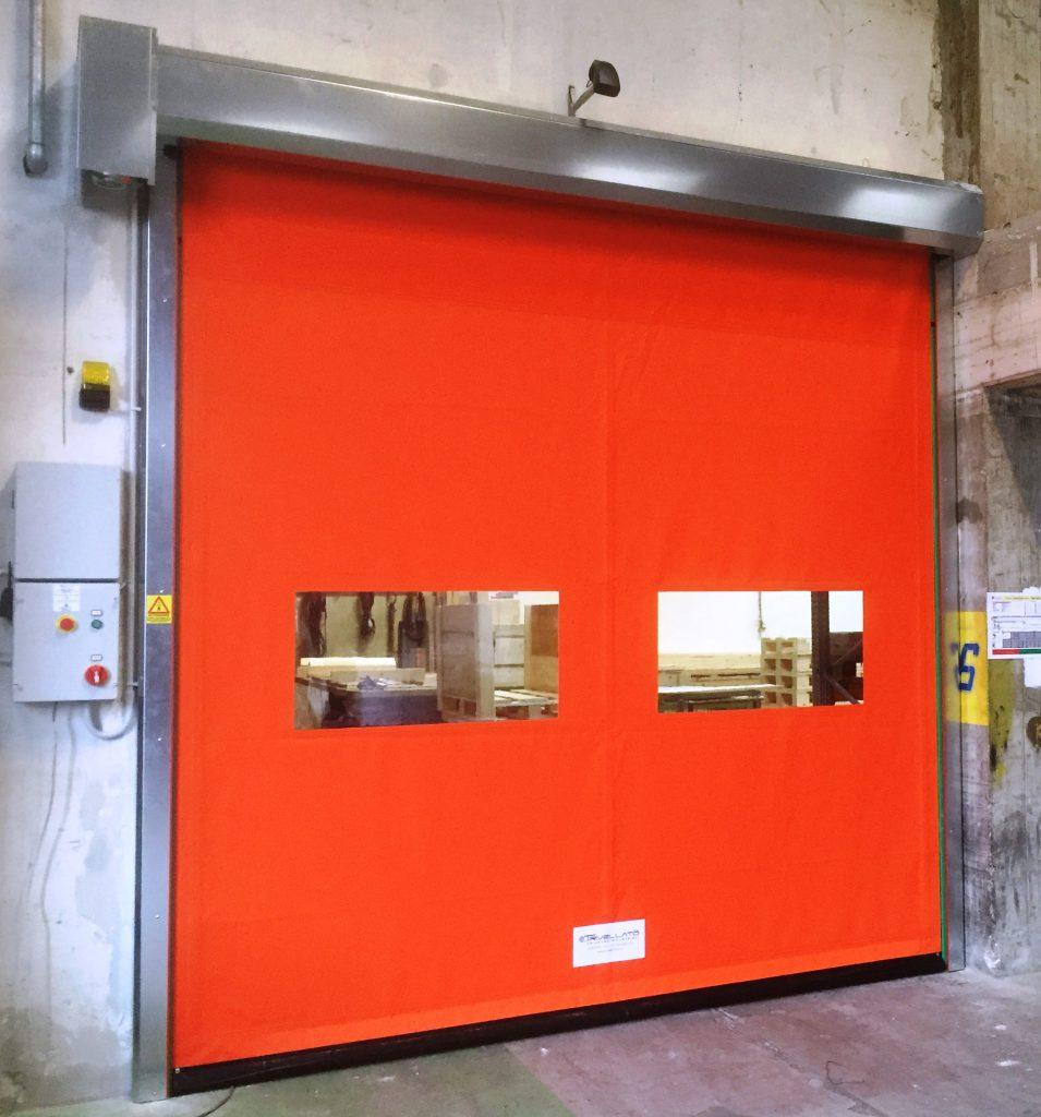 Self-repairing doors Flexi Roll - porte autoriparanti